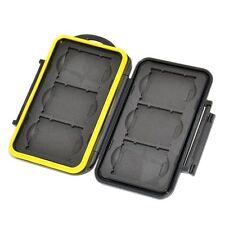 JJC MC-XQD6 Waterproof Memory Card Storage Case Protector for 6 XQD Cards