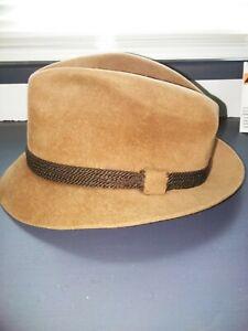 Dobbs Fifth Ave New York fedora Hat 7 1/4