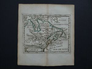 1676 Pierre DU VAL  Atlas map  CANADA - The Great Lakes - Duval