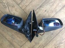 BMW E65 E66 7Series Right Left Pass Outside Side Mirrors Set Black 9 pin RHD