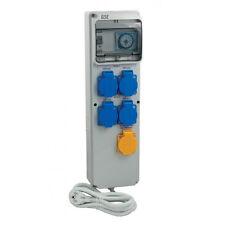 GSE Timer Box III 4 x 600W + Heizungsockel Lampensteuerung Zeitschaltuhr Grow