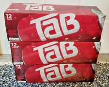 (3) TAB COLA 12 CANS FRIDGE PACK 12 OZ NEW DIET SODA DISCONTINUED 5/2021 EXPDATE
