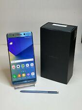 Samsung Note7 64GB Blue Coral Single SIM Network Unlocked SM-N930F - (A)