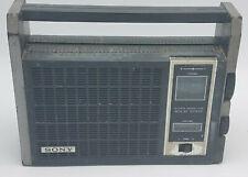 Vintage Sony TR-6500 Super Sensitive Solid State AM Transistor Radio