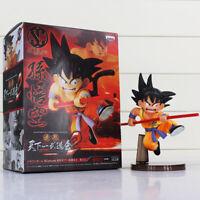 16cm Dragon Ball Z  Son Goku Childhood Scultures Action Figures PVC Model Toys