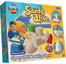SANDS ALIVE SUPER SOFT MODELLING SET AGE 3+ BRAND NEW CLASSIC SET 450G