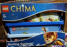 AUTHENTIC Legends of Chima LEGO Sorting Storage System NEW 4091