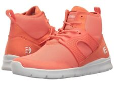 Women's Etnies Beta coral Round Toe Synthetic  High Top Shoe size 8