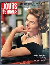 ►JDF 216/1959-INGRID BERGMAN-JAYNE MANSFIELD-MICKEY HARGITAY-DIANE HARTMAN-VADIM