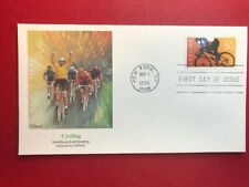 #3119 FDC 1996 Fleetwood 50c Cycling L984 UA Orange