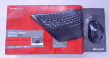 Microsoft Wireless Comfort Desktop 5000 Black Keyboard Mouse CSD-00001 R16194