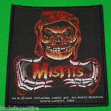 The Misfits Crimson Ghost Glenn Danzig Woven Sew On Patch Badge Applique-New!