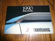 1990 Mitsubishi Galant Montero Precis Mirage Eclipse Mighty Max Sales Brochure