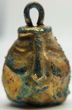 Bronze Bell / Gold plating / Zoomorphic / Fertility 100-300AD. Scythian / Celtic