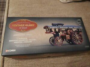 Corgi Vintage Glory Of Steam 80101 John fowler showman locomotive Anderton mint