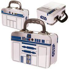 Star Wars Tin Tote-R2 D2 Caja de almuerzo de moda
