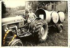PHOTO FERME TRACTEUR AGRICOLE SOMECA 35