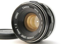【NEAR MINT+】  Canon 35mm F/2 Leica Screw Mount L39 LTM MF Lens JAPAN