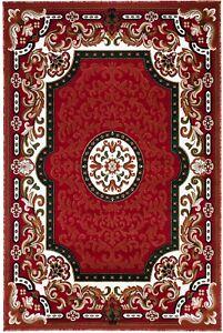"6x8 Area Rug Floral Carpet Medallion Design Home Decor Floor mat (5'2 x 7'2"")"