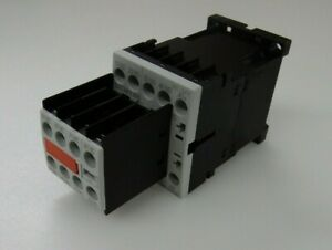 Siemens Overload Relay 4NO/4NC, 10 A, 24 VDC - 3RH1244-1BB40