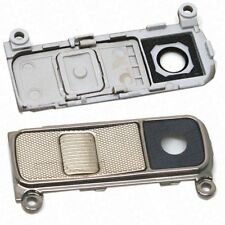 For LG K10 K420 2016 - Replacement Camera Lens Assembly With Buttons - Gold - OE