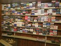 10 Different used vhs tapes Movies Classics Comedy Etc.