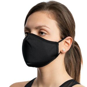 Made In Eu Face Mask with Filter Pocket Triple layer Nose clip Washable Reusable