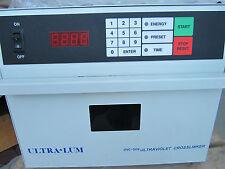 ULTRA LUM UV ULTRAVIOLET UVC-508 CLEANER FOR SEMICONDUCTORS OR CROSSLINKER PHARM