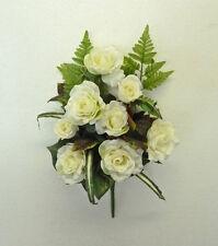 FIORI  E PIANTE ARTIFICIALI  Bouquet di rose bianche