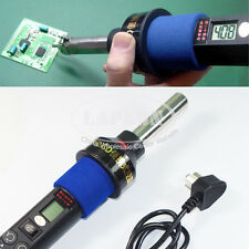 450°C LCD Adjustable Hot Air Gun BGA Soldering Repair Station 4 Nozzle Kit 8018