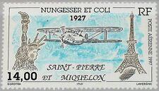 ST. PIERRE MIQUELON SPM 1997 727 C74 Disappearance Flight Nungesser & Coli MNH
