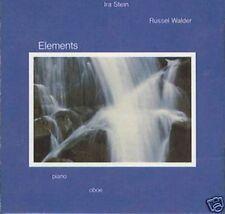 IRA STEIN / RUSSEL WALDER -ELEMENTS LP WH 1020 1982 USA