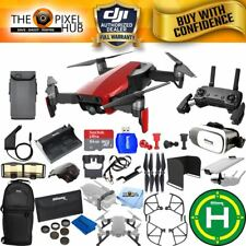 DJI Mavic Air (Flame Red) 1 Battery EXTREME All You Need Accessory Bundle NEW