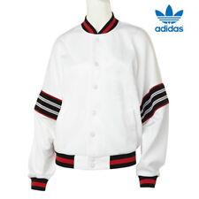 Adidas Originals Womens Tennis Track Top AJ8511 White Logo Jacket RARE UK 12