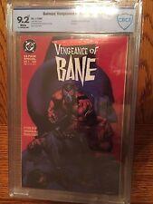 Batman Vengeance Of Bane #1 1993 Dc Cbcs 9.2 Near Mint -