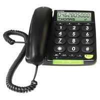 Doro PhoneEasy 312cs schnurgebunden Großtastentelefon Festnetztelefon schwarz