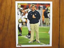 "PAUL  JOHNSON (Georgia Tech Yellow Jackets) Signed  8"" x 10""  Glossy Color Photo"