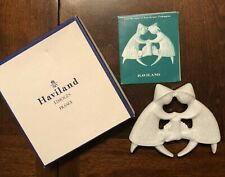 Haviland France 1979 Ornament White Porcelain w/ Box