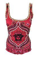 Atelier Versace Haute Couture Vintage Embellished Top Swimwear Romper Bodysuit