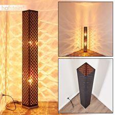 Lampadaire Retro Noir Lampe de chambre à coucher Lampe sur pied Lampe de séjour