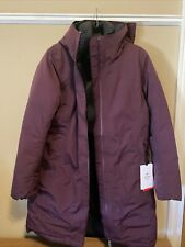 Lululemon Snow Warrior Parka Deep Goose Down Wine Womens Size 12 NWT  $448!!