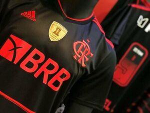 Flamengo Soccer Football Jersey Shirt 2020 2021 Adidas Brazil Size Large