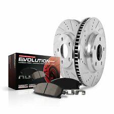 For Mazda 3 14-16 Brake Kit Power Stop 1-Click Z23 Evolution Sport Drilled &