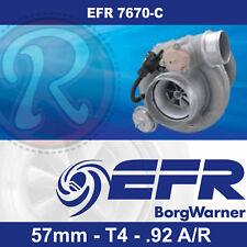 Borg Warner EFR 7670-C Turbo-57mm-T4-Twin Scroll-0.92 A/R 375-650hp 179390