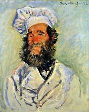 CLAUDE OSCAR MONET - 1882-LO CHEF-Canvas 24'