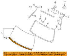 TOYOTA OEM 07-14 FJ Cruiser Windshield Reveal Molding 7553535011 75535-35011