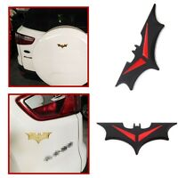 Car Side Door Sticker Rear tail Batman Badge Emblem Tail Decal Black/Red - New