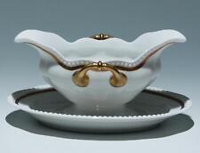 Rosenthal Sauciere PERLRAND mit Goldrand      #18156