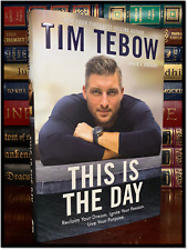 This Is The Day ✍SIGNED✍ by TIM TEBOW New Hardback 1st Edition First Printing