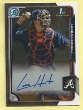2015 Bowman Draft Baseball Lucas Herbert Rookie Auto Autograph Braves #BCA-LH